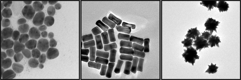 Nanoparticelle varie