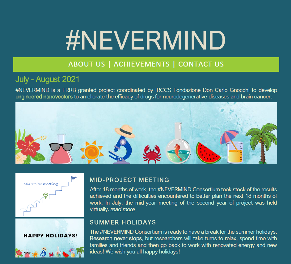 NEVERMIND newsletter_july-august2021