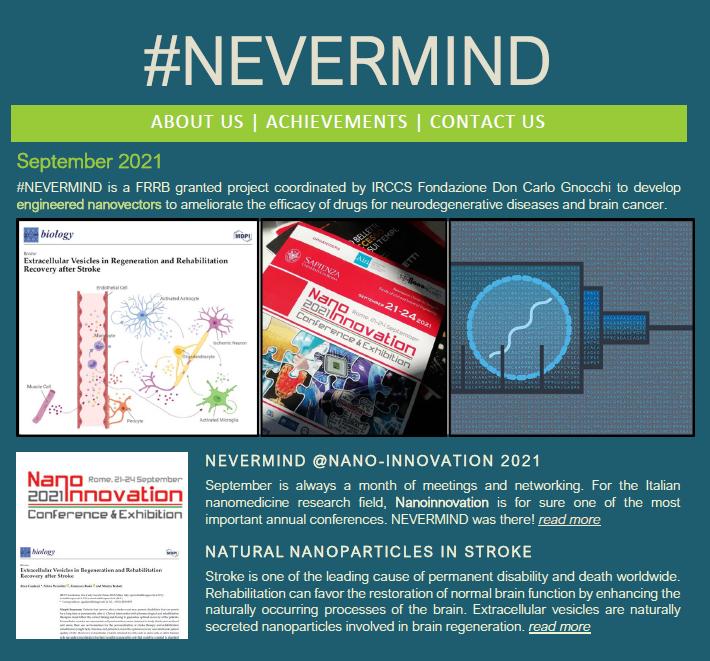 NEVERMIND newsletter_SETTEMBRE2021